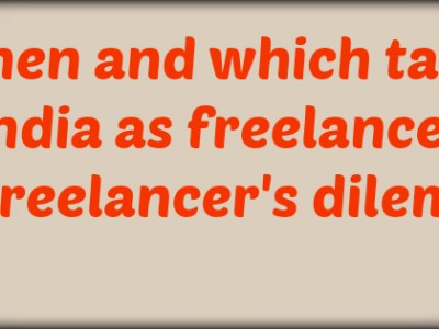 Tax on Freelancer's Income in India