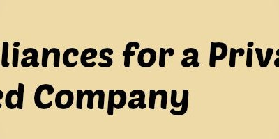 compliances for Private limited company