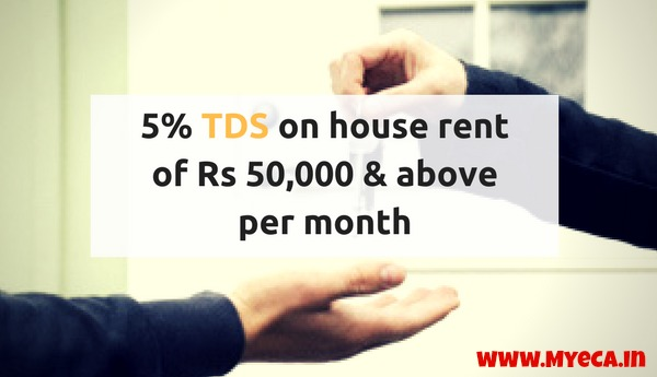 Budget 2017: Hurdles on HRA claims? 5% TDS on house rent of Rs 50,000